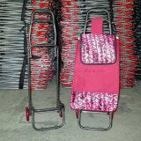Outdoor Foldable Wheeled Metall Gepäck Supermarkt Shopping Trolley Warenkorb Warenkorb