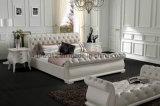 Кровать кожи мебели спальни мягкая (SBT-5818)
