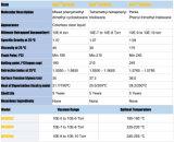 Silicone Huile de pompe de diffusion égale à DC704, aucun problème de cristallisation
