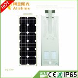 Neues 40W 3 Jahre der Garantie-leistungsfähige integrierte LED Solarim freienlicht-mit Fabrik-Preis