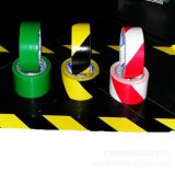 De wit-rode Waarschuwing die van pvc Band voor ElektroBescherming (48mm*20Y) merken