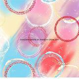 пузырь Pigment&Disperse цвета 100%Polyester напечатал ткань для комплекта постельных принадлежностей