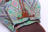女の子または女性デザイナー様式の偶然のランドセルのDeawstringのキャンバスのバックパックのリュックサック
