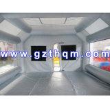 Melhor Venda cabine de pintura automóvel insufláveis/Cabine de Spray insuflável portáteis baratos/8*4*3m Oxford Cabine ar forte