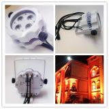 4PC RGBW mini im Freien LED NENNWERT
