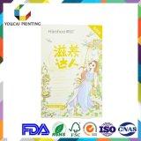 Cadre de papier cosmétique élégant d'impression de couleur de Cmyk du papier 300g enduit pour la doublure