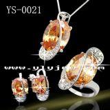 Juwelen 925 van de manier de Echte Zilveren Levering voor doorverkoop van de Fabriek van Juwelen Vastgestelde