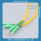 Corrección-Cuerda óptica del Sc-Sc G652D SM Dx de la fibra