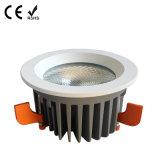 9W 15W 20W 30W 40W 옥수수 속 고성능 천장 점화 LED Downlight