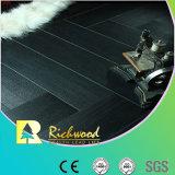 Revestimento estratificado impermeável gravado AC4 da hicória E0 do anúncio publicitário 12.3mm