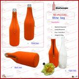 Sac à vins personnalisé bon marché Neoprene 1 bouteille (6151R18)