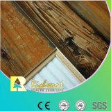 suelo laminado impermeable de la haya de la textura de la viruta de 12.3m m