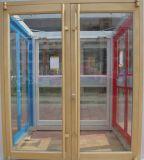Горячие Популярные дизайн электрофоретическими процессами шампанское Kfc двери для входа