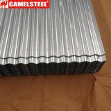 Strato ondulato d'acciaio tuffato caldo dello Alu-Zinco per la Camera del contenitore