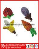중국 공급자에게서 애완 동물을%s 최신 판매 견면 벨벳 개구리 장난감