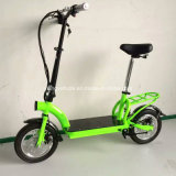 """2016 Nouvelle arrivée 300W E-scooter avec grande roue de 12"""""""