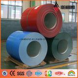 Rote blaue grüne Farbe strich Aluminiumring vor