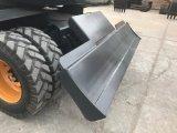 Buen precio China el 7 de 8 Ton Ton nueva excavadora de ruedas para la venta HT75W