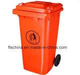 Plastikmülleimer 120L/240L/360L/660L/1100L mit offenem Structrue und zwei/vier Räder