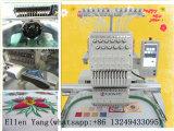 1台のヘッド束ねる刺繍機械コンピュータ化された商業刺繍機械