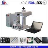 공장 가격을%s 가진 발견 디스트리뷰터 중국 섬유 Laser 표하기 기계