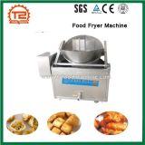 Bola de carne, alimento de la soja y máquina de la sartén del alimento de bocado