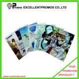 A4 Transparent Color Buckle File Pocket с Button (EP-F9143)
