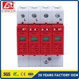 protezione solare del parascintille del sistema di CC delle unità SPD PV della protezione di impulso di 100ka 4p