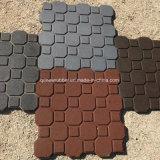 Conexão de alta qualidade do intertravamento de mosaico de borracha de Pino Plástico