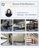 Profil en aluminium de matériau de construction pour la taille personnalisée par porte de guichet