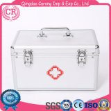 Medical Cloth First-Aid Box with Shell Metal