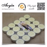 Commerce de gros 20pcs/SAC 12g jaune Tealight bougie