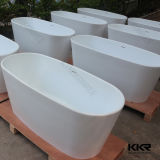 Superficie solida acrilica all'ingrosso che impregna vasca da bagno calda