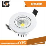 알루미늄 깊은 그림 정밀도는 LED 주거를 위한 주물을 정지한다