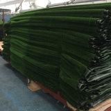 装飾のための人工的な草のカーペットの敷物を美化する55mmの高さ18900の密度Leou10