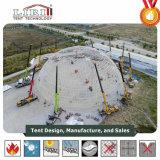 Das größte 60m Durchmesser-Geodäsieabdeckung-Zelt verwendet für im Freienereignisse