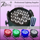 Hochzeits-Beleuchtung 12W X der 18 LED-NENNWERT mit entfernter Station, DMX, Ton, Selbst-Lassen Modus laufen