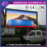 P3.91 SMD Outdoor Thin Flexible LED Screen Car Advertising