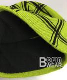 Новый стиль проверить с помощью моды трикотажные Beanie Polor внутренней панели боковины