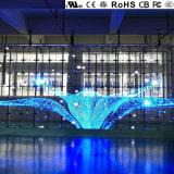 Visor LED transparente com P5 europeu de qualidade superior