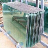 6mmの平らな緩和されたガラスの塀のパネル