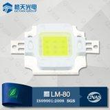 Módulo LED SGS TUV BV auditado fábrica CCT6500k blanca 70W