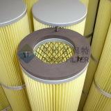 De Geplooide Filter van de Bodem van Forst Lading met de Gepassiveerde Bovenkant van het Metaal
