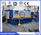 Do feixe hidráulico do balanço do CNC QC12K-4X2500 máquina de corte