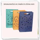 Bolso de compras de papel de la alta calidad con la insignia modificada para requisitos particulares para el té