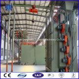 Tipo catenario máquina del chorreo con granalla, máquina del chorreo con granalla para el cilindro del LPG