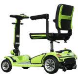 セリウムが付いている移動性のスクーターを折る4つの車輪