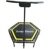 Trampolim Fitness com alça ajustável T Bar