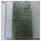 Vente chaude claire en verre modelé 4mm en verre de flotteur