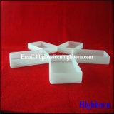 Verkaufender milchiger weißer fixiertes Silikon-Quarz-Glas-Spitzenbottich
